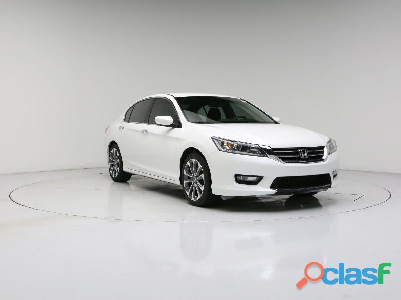 Honda accord 2014 sedan blanco sport