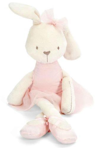 1 coneja de peluche rosa - súper suave - mamas & papas