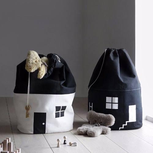 Bolsa para juguetes ropa lavandería bebés niños y niñas