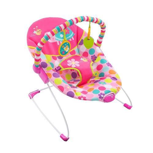 Bouncer mecedor bebe bright starts vibradora tortuga rosa
