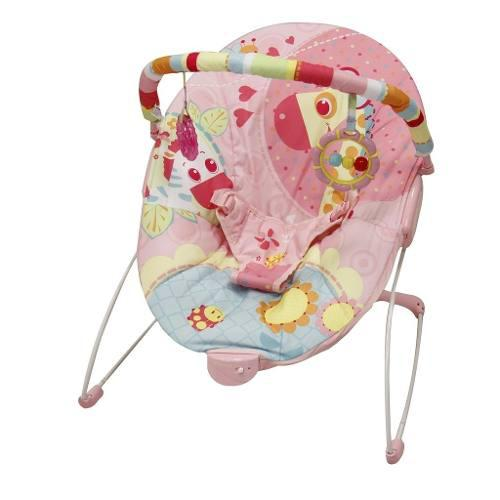 Bouncer silla mecedora para bebe prinsel rosa azul msi