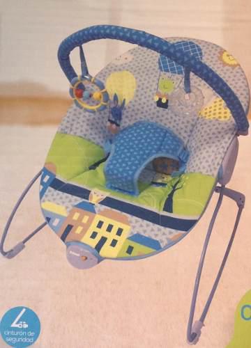 Bouncer silla mecedora vibradora para bebe prinsel