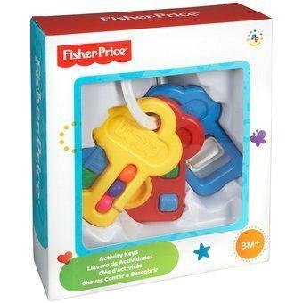 Fisher price llavero de actividades clasico bebe mattel full