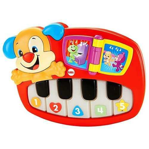 Fisher price piano perrito de aprendizaje dlh75