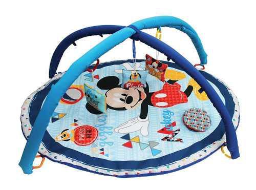 Gimnasio didáctico para bebé disney baby mickey azul