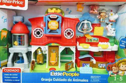Granja cuidado de animales little people
