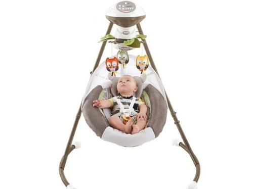 2fc01cfc2 Mecedora columpios para bebé deluxe fisher price my little. en ...