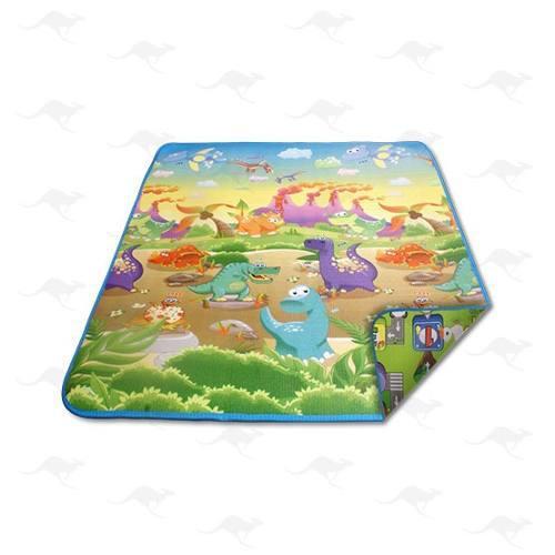 Tapete infantil dinosaurios - granja - mundo felíz 3