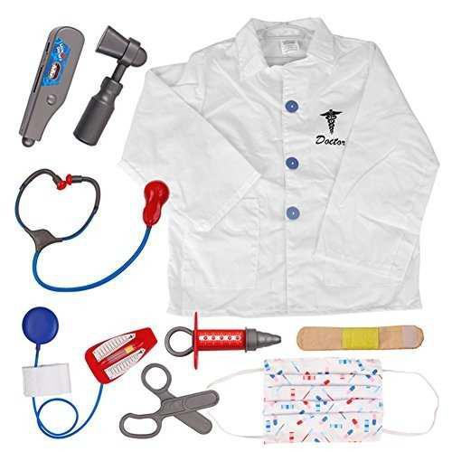 Toptie doctor juego de roles vestir cirujano conjunto de d