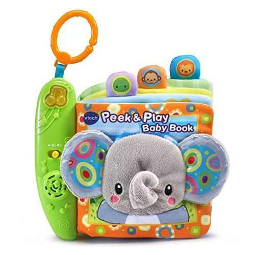 Vtech peek & play bebé juguete libro