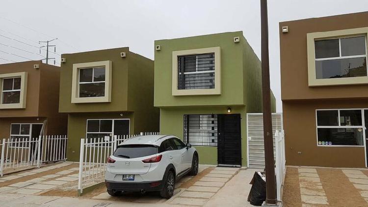Casa nueva en privada cipres residencial