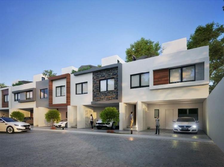 Casa nueva en venta en privada cerrada san pedro cholula,
