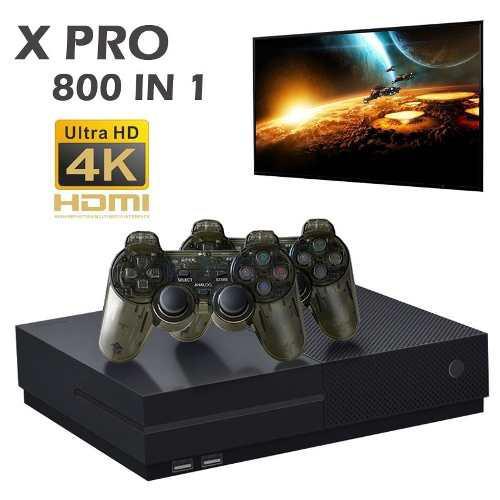 Consola con 800 juegos retros arcade-neogeo-nes-snes-sega