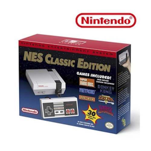 Consola nintendo nes classic 2 controles 21 juegos