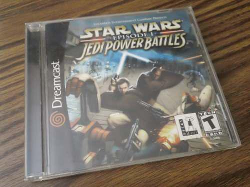 Dreamcast star wars episodio 1 jedi power battles completo