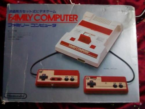 Famicom y disk system + juegos