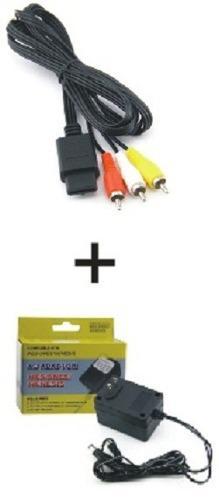 Kit eliminador nes/snes/genesis 3-1+ cable av snes/n64/ngc