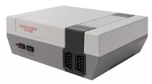 Mini consola tipo nes retro 620 juegos 2 controles