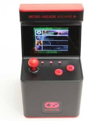 Máquinita mini arcade retro con 300 juegos nuevo