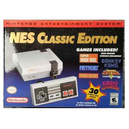 Nintendo classic mini 30 juegos clásicos nes zelda mario