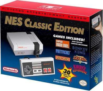 Nintendo nes classic 2018 30 juegos gratis
