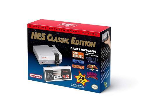 Nintendo nes classic edition consola mini con 30 juegos
