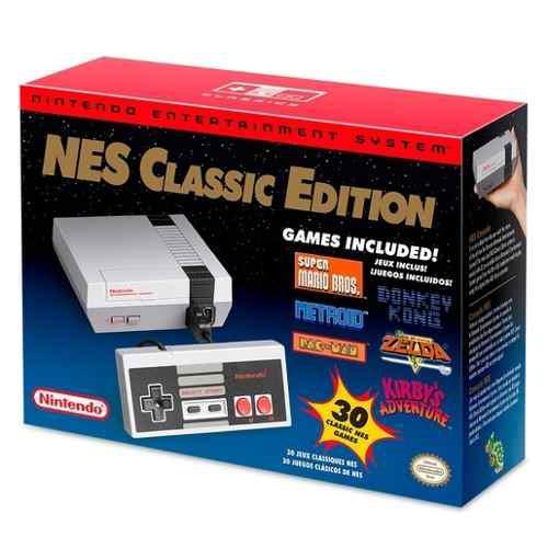 Nintendo nes classic mini consola + 30 juegos y 1 control