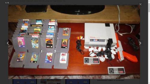 Nintendo nes con 20 juegos a escoger