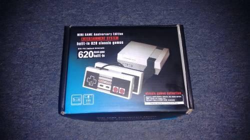 Nintendo nes mini con 620 juegos clasicos,2 controles,comple