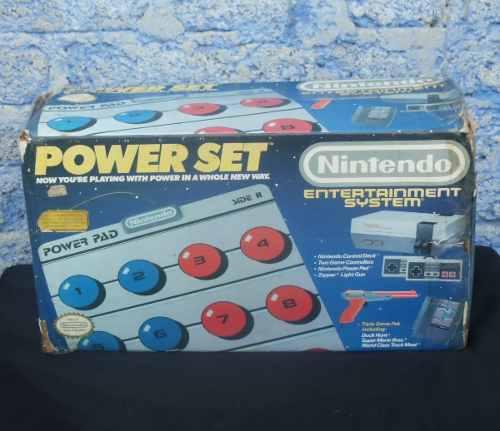 Nintendo nes power set con tapete y caja