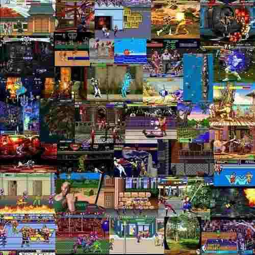 Super coleccíon de juegos mame arcade,n64,neo geo,snk,sega