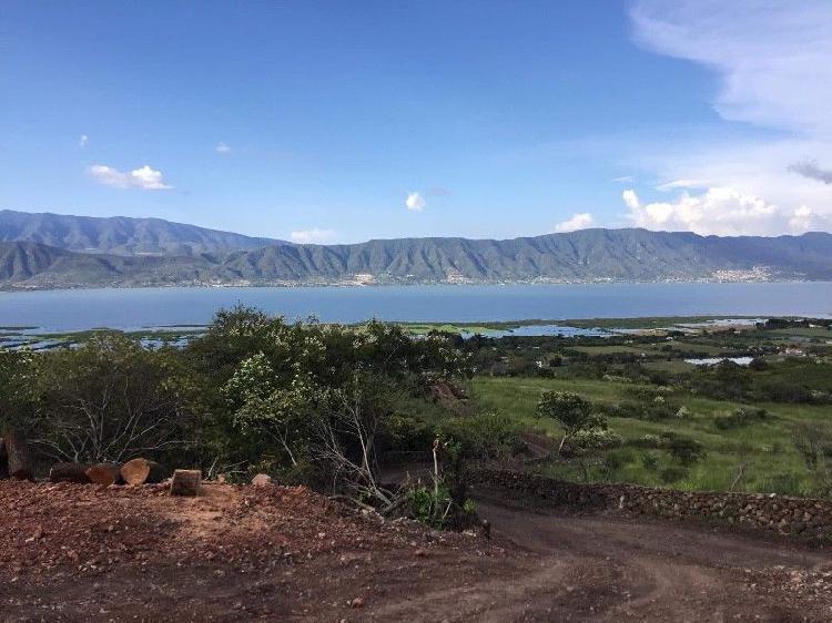 Terrenos residenciales (vista panoramica al lago de chapala)