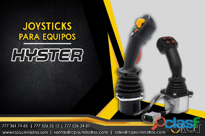 Joysticks para equipos Hyster