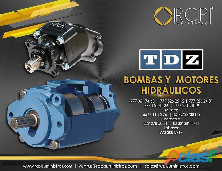 Motores hidráulicos para grúas industriales