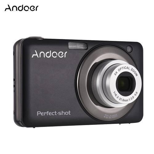 Andoer 20mp 720p hd digital cámara vídeo con la videocáma