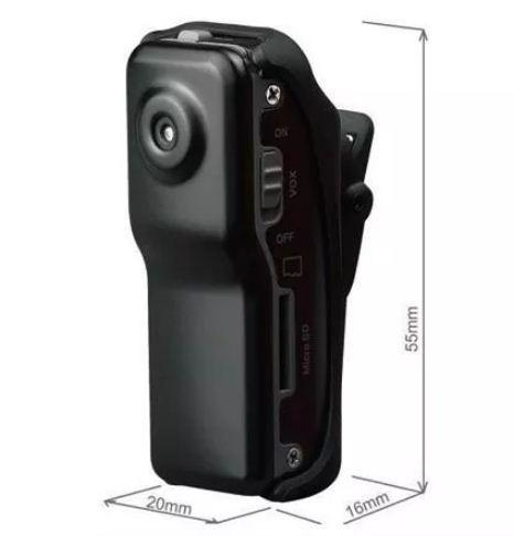 Camara espia mini dv 8gb memoria sd hasta 32gb - t446