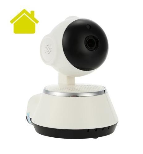 Camara ip wifi vigilancia alarma app v380 robotica español