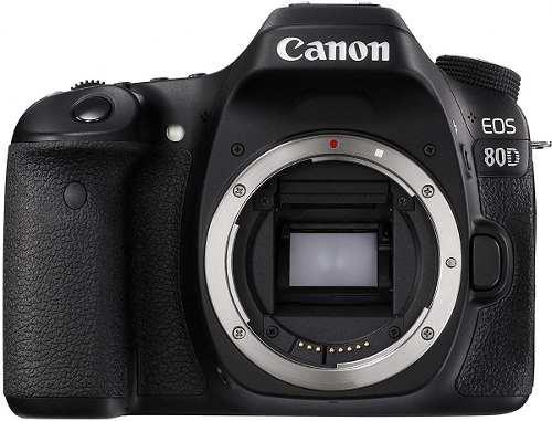 Canon eos 80d 24.2mp cámara digital slr fotográfica