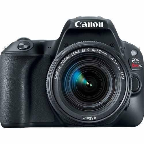 Canon eos rebel sl2 con lente ef-s 18-55mm is + sd de 16gb