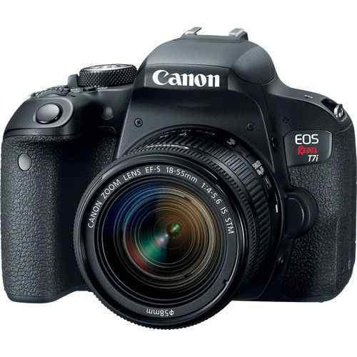 Canon eos rebel t7i con lente de 18-55 mm