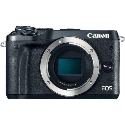 Cámara digital espejo canon eos m6 - sólo cuerpo, negro