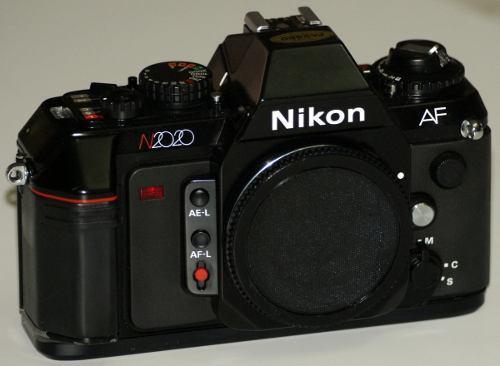 Cuerpo nikon n2020 af reflex rollo 35mm envio gratis