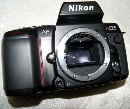 Cuerpo nikon n8008 reflex rollo 35mm envio gratis