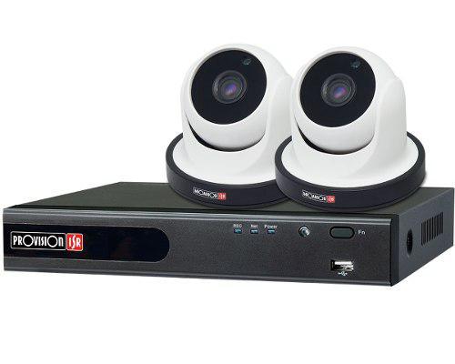 Kit camaras de seguridad dvr ip provision 4 canales cables
