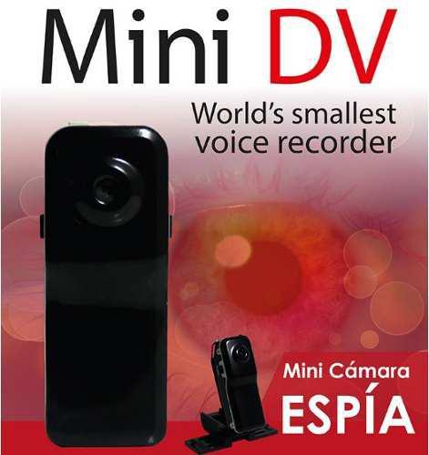 Mini Camara Espia Dv Video Compacto Hd Accesorios