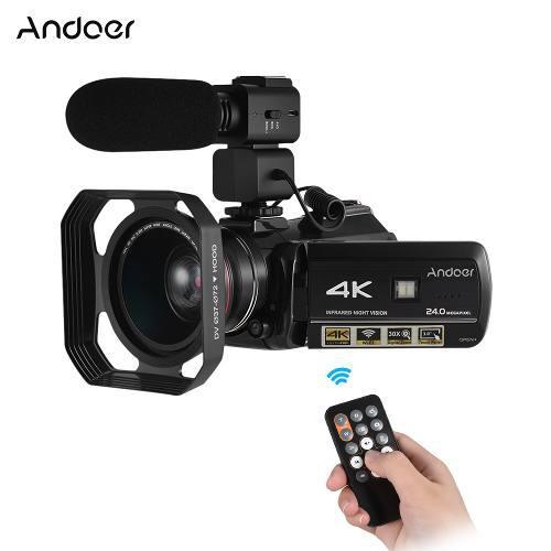 Video camara digital profesional dv andoer ac3 4k uhd 24mp