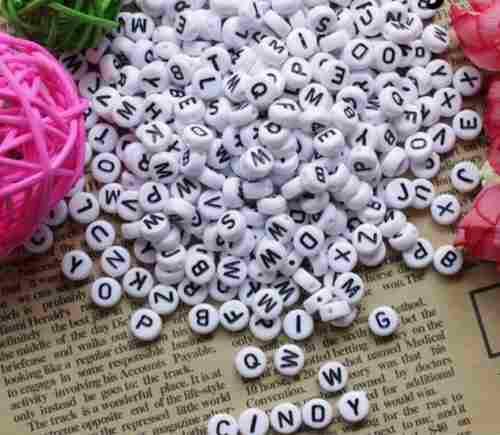 b2a79f5c8abd Bisutería letras para pulseras envío gratis
