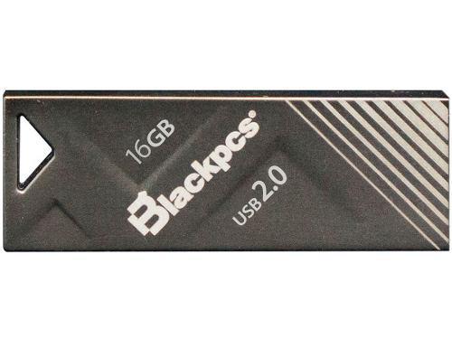 Memoria usb 16gb blackpcs mu2104bl-16 2104 negro metalico