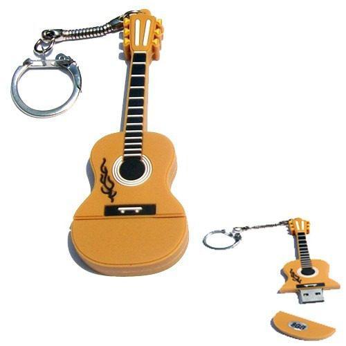 Memoria usb guitarra clásica acústica 8gb incluye envio
