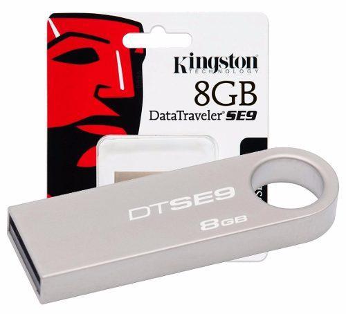 Memorias usb kingston 8gb dt50 dtse9 g4 laptop usb 3.1 3.0